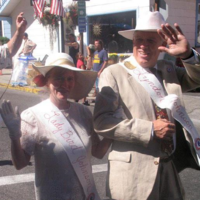 Constitution Day parade, 2004, Lady Bird unknown